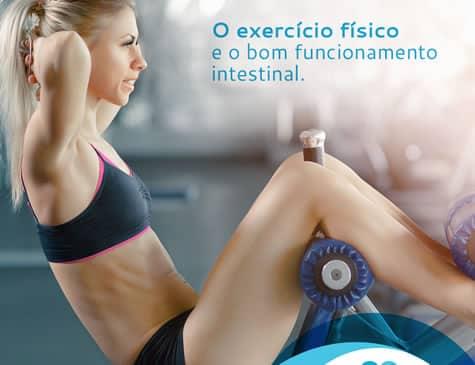 Mulher se exercitando em Post Redes Sociais Dra. Cinara Oliveira cliente E-clínica Marketing digital Médico