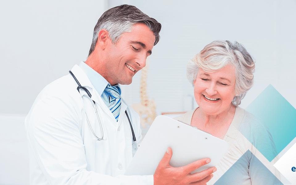 medico e paciente marketing digital blog eclinica