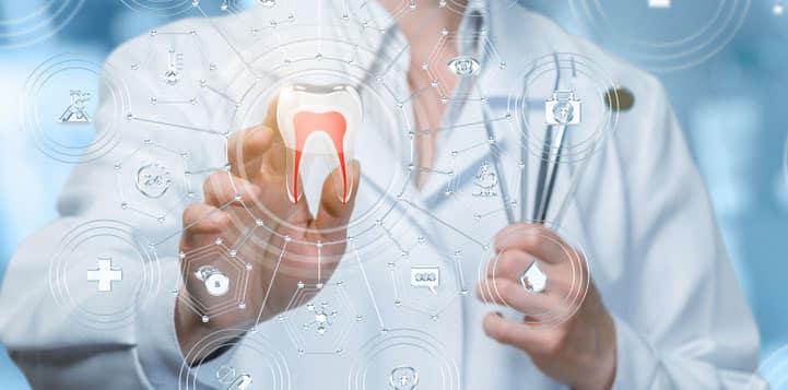 marketing dentista sendo feito