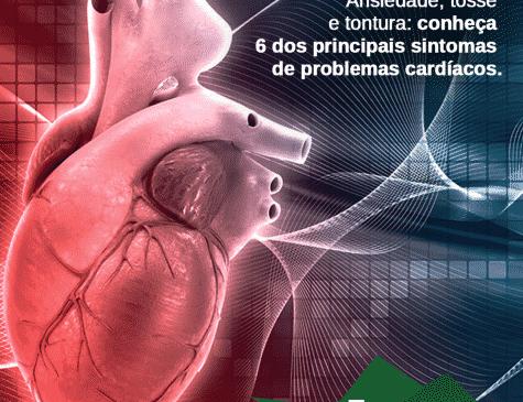 Ilustração de coração postagem para redes sociais Hospital Amazônia cliente E-clínica Marketing Digital médico