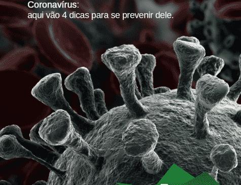 Imagem do coronavírus Post mídias sociais Hospital Amazônia cliente E-clínica marketing digital médico