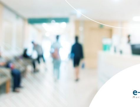 saguão de hospital saiba mais sobre marketing hospitalar na internet